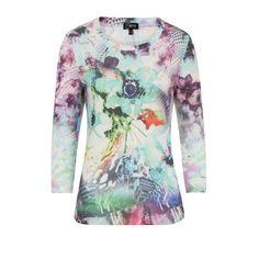 Emreco Floral Sequin Top Winter Pastel