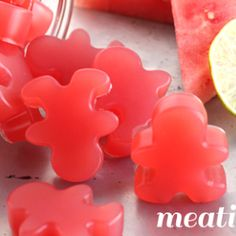 Healthy Sour Watermelon Gummies : meatified