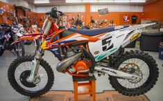 "2015 KTM 550SX ""Factory Edition"""