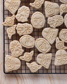 These Star Wars Cookies are perfect thanks to these Star Wars Cookie Cutters paired with this delicious animal cracker recipe.