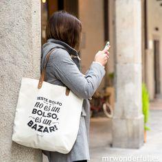 Bolso - Este bolso no es un bolso, es un bazar! #mrwonderful