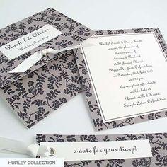 Wedding Invitations- elegant, Handmade stationery -Hurley : Ecademy Marketplace