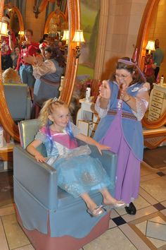 Bibbidi Bobbidi Boutique at Walt Disney World.