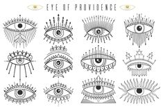 fabrictattoosprintscreating providence sponsored graphic eye ink set of ad Eye of providence Ink graphic set You can find Witchcraft tattoos and more on our website Family Tattoos, Small Tattoos, Neck Tattoos, Couple Tattoos, Son Tattoos, Tiny Tattoo, Arrow Tattoos, Temporary Tattoos, Print Tattoos