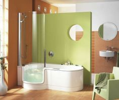 small tubs shower combo | Walk In Tubs With Shower