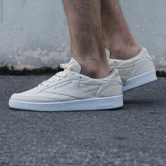 Reebok Classic - Club C 85 LST white. Harper Store - Clothing and Sneakers.