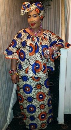 2019 African Women Dresses: Latest Iconic and Radiant - Fashion gig Latest African Fashion Dresses, African Dresses For Women, African Print Dresses, African Print Fashion, African Attire, African Women, African Outfits, Ankara Skirt And Blouse, African Traditional Dresses