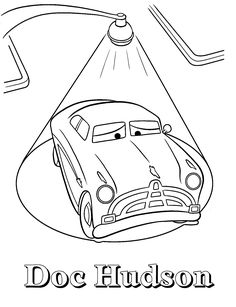 Doc Hudson coloring pages free to print