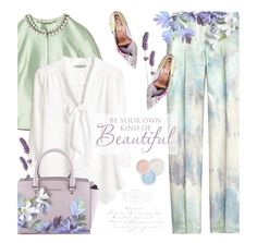 """""""Pants!"""" by kearalachelle ❤ liked on Polyvore featuring Michael Kors, Matthew Williamson, MICHAEL Michael Kors, Ted Baker and Bare Escentuals"""