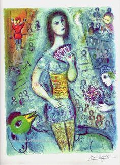 Marc Chagall-Circus Dancer