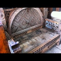 old sofa at nursery #furniture #karachi #pakistan #instagram