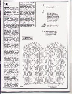 Crocheted motif no. 464 | Patterns and motifs