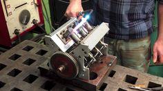 V6 Stirling Engine
