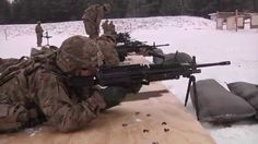 U.S. Army Trains Latvian Soldiers to Fire Mortars and M240 Machine Gun