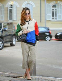 street-style, inspiration, iconic, trends, capri wide pants, fashion-blog, fashionable, chanel, בלוג-אופנה, שאנל, שבוע אופנה, השראה