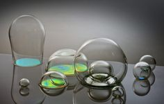"""Bubblicious"" Glasswork by Jasmine Targett. found at Artstormer.com"