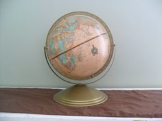 Mid Century Crams Imperial World Globe by TheRetroRemedy on Etsy
