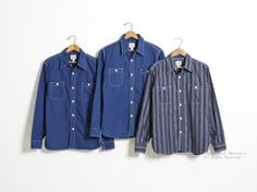 Item : 14W-720WS-W / Price : ¥15,800 + tax / Size : XS,S,M,L,XL / Color : PIN-DOT, DOT-STRIPE, FLOWER-STRIPE