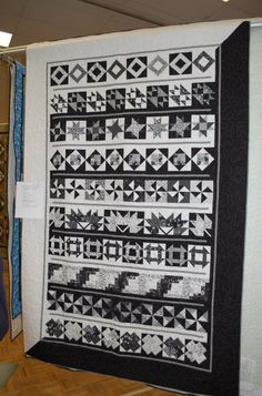 Interesting row quilt