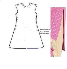 How to make a pattern for a kurta