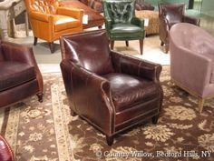 1000 Images About Leather Sofas Chairs Sectionals On Pinterest Brown Leather Chairs Brown