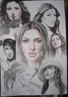 Helena Paparizou, Learn Greek, Greek Music, Make Up Art, Chicano Art, Singers, Greece, Actors, Reflection