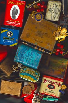 Great tins from another time.