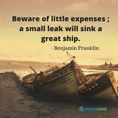 Small expenses might look innocent, but they can sink the well-being of your economy. Manage it wisely.