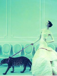 such a new look: erin oconnor by cathleen naundorf for uk harpers bazaar