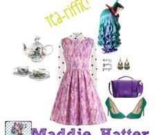 ever after high polyvore | Ever After High: Maddie HatterPlus styling inspired by Madeline Hatter ...