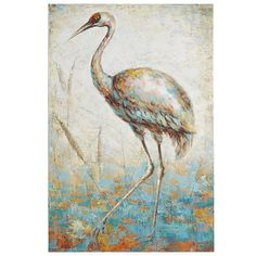 Wade into a classic look with a pleasing neutral palette. Our regal crane…