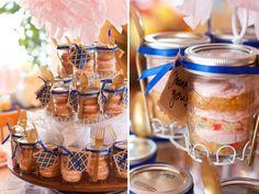 Mason Jar cupcake favours