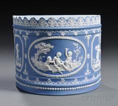 Blue Jasper Dip Bough Pot, England, early 19th century