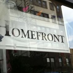 Homefront is a great furniture and home goods store on Austin Street