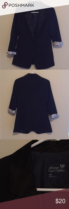 American Eagle Black Blazer American Eagle Black Blazer Size Small (never been worn) American Eagle Outfitters Jackets & Coats Blazers