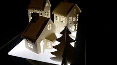 Lia Griffith snow village