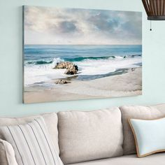 Highland Dunes 'A Forever Moment' Photographic Print on Wrapped Canvas Simple Oil Painting, Oil Painting On Canvas, Painting Prints, Painting Art, Hall Painting, Art Print, Watercolor Painting, Abstract Canvas, Canvas Art