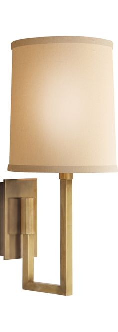 Circa Lighting ASPECT LIBRARY STATIONARY SCONCE by Barbara Barry in soft bronze