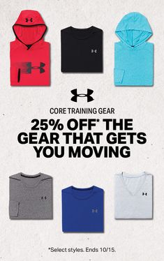 Under Armour | 25% Off Select Styles