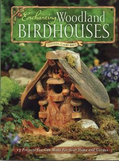 Lovely bird houses and toad houses!