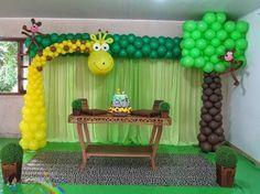 Resultado de imagem para painel de girafinha de festa