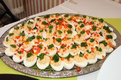 leckere, gefüllte Eier, #Weddingfood