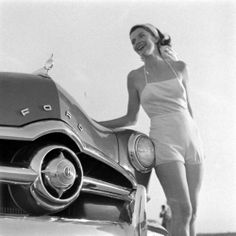 Chicks with cool cars