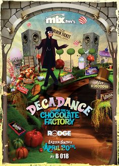 Decadance Easter Charlie and the Chocolate Factory Edition