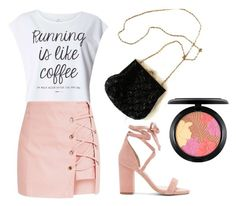 Running is like coffee by alanna-clothing on Polyvore featuring moda, Dorothy Perkins, Raye and MAC Cosmetics