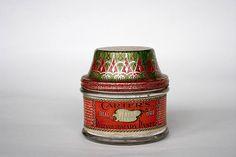 Antique Paste Jar Vintage Paste Jar Carter's Ink