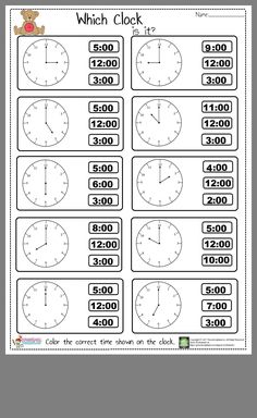 Tell The Time Worksheet Tell The Time Worksheet ,Saatler Hey! Did you check out our new telling time worksheet? We prepared easy tell the time worksheet for kindergarten, preschool, and first graders. Clock Worksheets, 2nd Grade Math Worksheets, Preschool Worksheets, Math Activities, Matching Worksheets, Coloring Worksheets, Multiplication Worksheets, Grammar Worksheets, Math Games