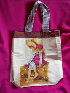Eco Bag Pintura em tecido