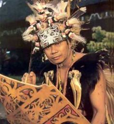 Traditional Costumes from East Kalimantan