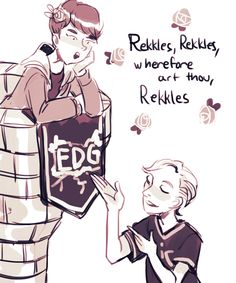 Rekkles and Deft